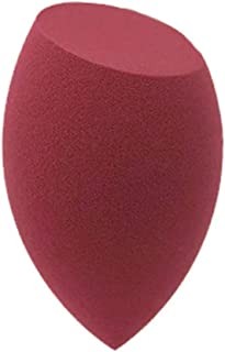 1 stuks multi-coloured make-up spons, blender blending beauty sponzen voor foundations, poeders en crèmes, rood