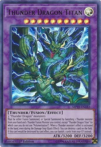 Thunder Dragon Thunderstormech DUPO-EN030 1st Edition Ultra Rare Yugioh