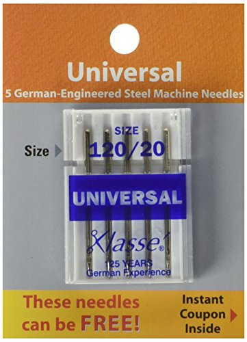 Tacony Corporation Klasse Embroidery Machine Needles-75//11 5//Pkg