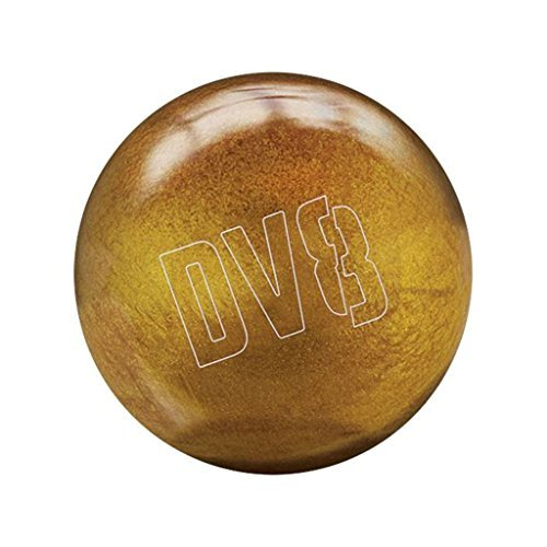DV8 Glitter Gold Bowling Ball with Free Shoulder Sack by DV8 Bowling Products