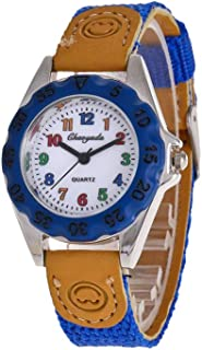 HEMOBLLO Kids Wrist Watches Quartz Cartoon Watch Students Child Watch for Students Kids Children
