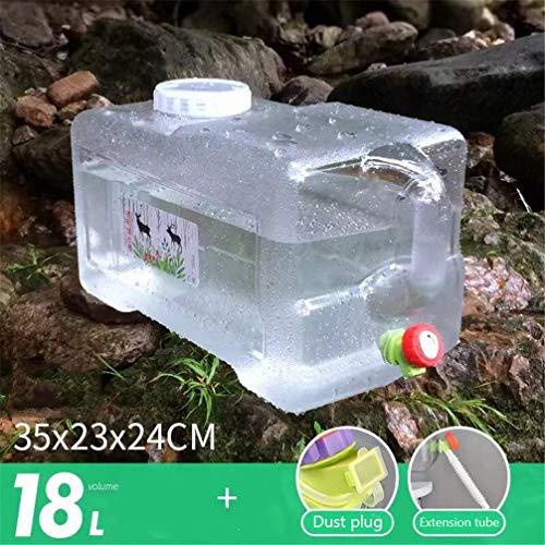 Wasservorratstank, Camping Wasserbehälter Wasser Portable Storage Eimer For Autos Lagercontainer Im Freien Spielraum Eimer (Size : 18L)
