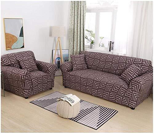 Allenger Sofa Seat Cushion Cover,Elastische rutschfeste Sofabezug, ganzjährig einsetzbare universelle Vollbezug-Sofakissenbezug, Möbel-Antifouling-Schutzhülle - Farbe 13_90-140 cm