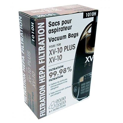MICROFILTER HEPA VACUUM BAGS 1010H - JOHNNY VAC XV10 - PKG/4+1