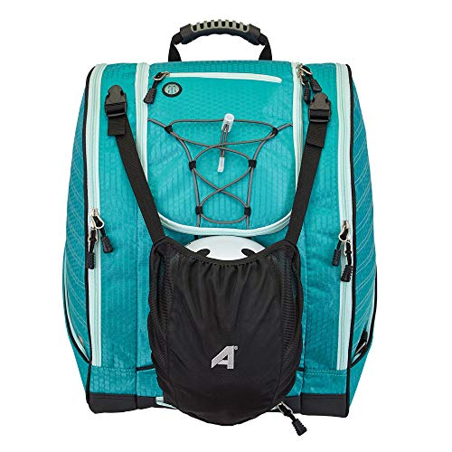 Athalon Everything Ski Boot Bag and Backpack Plus, Teal/Mint, one Size