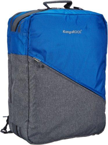 KangaROOS Healy Travel Bag B4027 Unisex-Erwachsene Schultertaschen 35x50x20 cm (B x H x T), Blau (Copen 442)