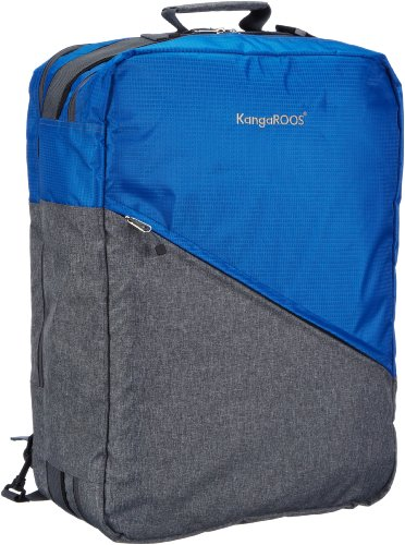 KangaROOS Unisex-Erwachsene Healy Travel Bag Schultertaschen, Blau (Copen 442), 35x50x20 cm