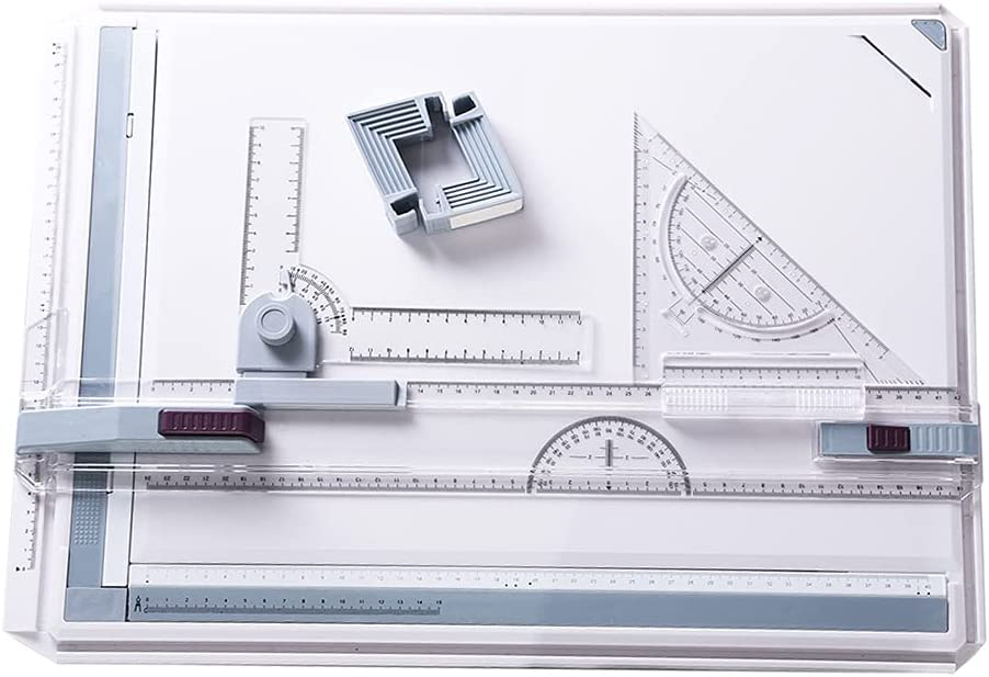 Fees free EUPEFIST Drawing Board A3 Set D Technical System Metric 51x37cm Over item handling