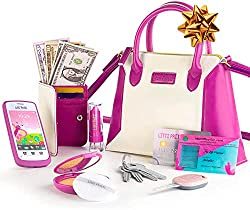 Toy-that-Start-with-W-Wallet-Cellphone-Purse-Toy-Set
