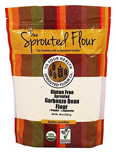 TO YOUR HEALTH SPROUTED FLOUR Organic Gluten-Fr Sprtd Grbanzo Bn Flour, 1 LB