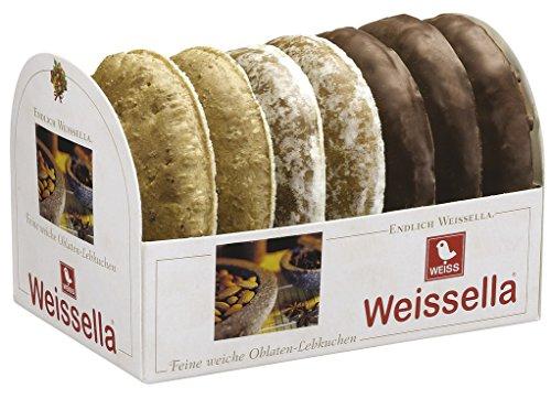 Weiss Weissella Oblatenlebkuchen 3fach, 7er Pack (7 x 200 g)