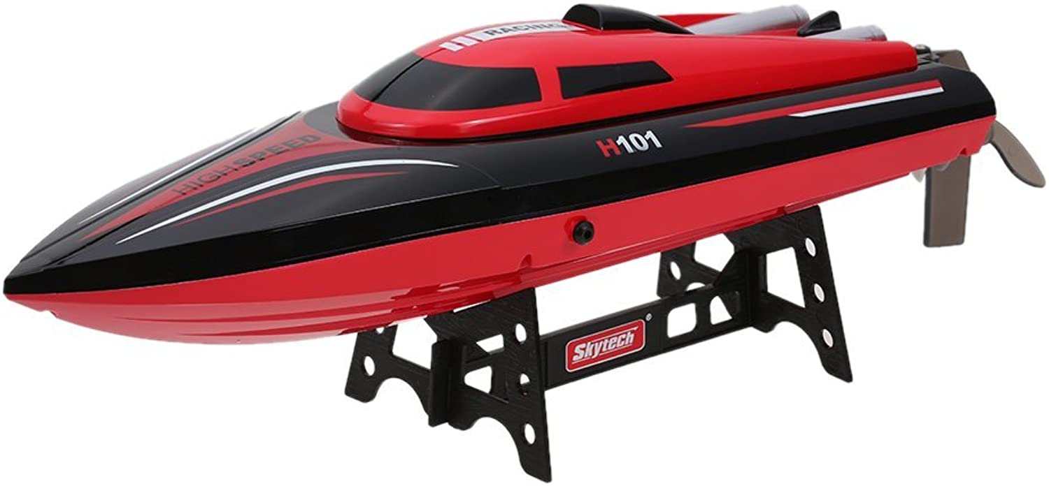Hatime Skytech H101 2.4G Remote Controlled 180° Flip High Speed Electric RC Racing Boat for Pools, Lakes and Outdoor Adventure