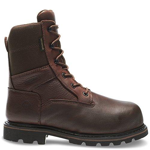 Wolverine Men's Novack 8 Inch Comp Toe Boot, Brown, 8 M US