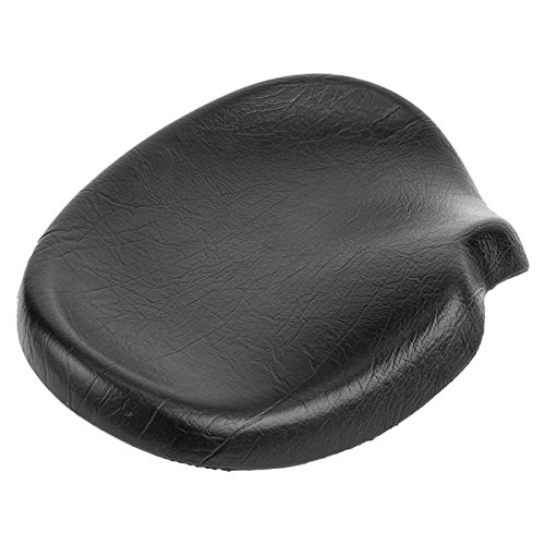 Sun Bicycles Trike Western Saddle with Harware, 16x12in, Black Delaware