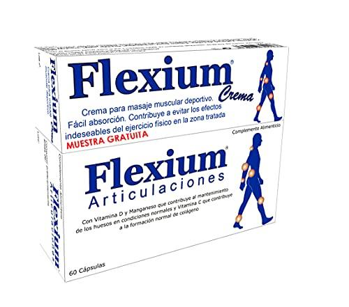 Lote Flexium Articulaciones 60 cápsulas + Flexium Crema