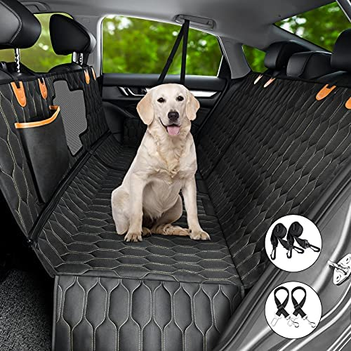 4-in-1 Dog Car Seat Cover, OKMEE Convertible...