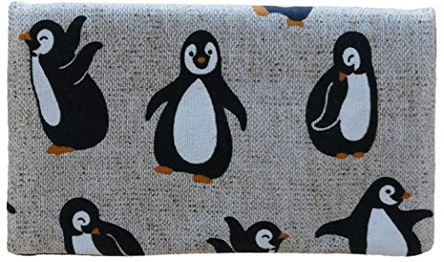 Plan B, Monedero, Pingüino, 15 x 9 cm, con Tarjetero, Multicolor