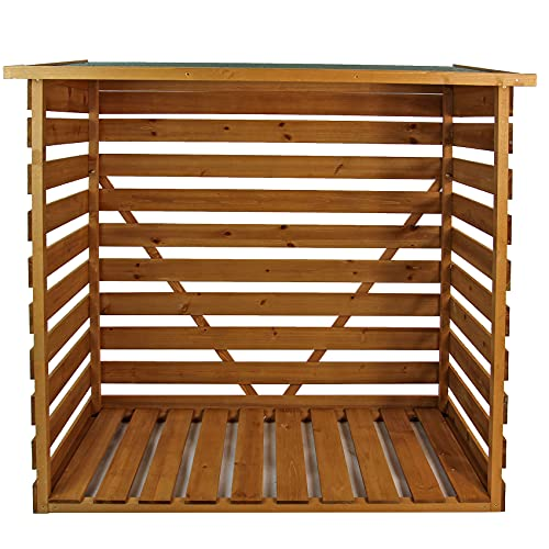 Easipet Wooden Log Store (467)