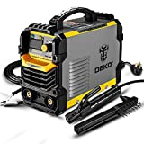 DEKOPRO 110/220V MMA Welder,160A ARC Welder Machine IGBT Digital Display LCD Hot Start Wel...