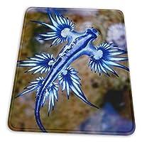 マウスパッド 青い竜 ゲーミングマウスパット デスクマット 最適 高級感 おしゃれ 滑り止めゴム底 防水設計 複数サイズ