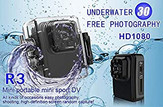 ENVISION Wifi Mini Spy Hidden Camera, R3 Full HD 1080P Portable Small Wireless Nanny Cam⭐Waterproof⭐ With Night Vision and Motion Detection,Connect to IOS/Apple, Android, PC, Laptop. Indoor or Outdoor