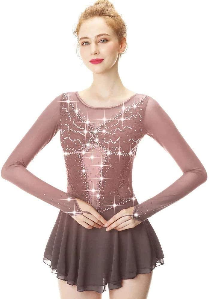 Competition Figure Skating Dress Women's New New product!! product type Length Dan Girls Sleeve