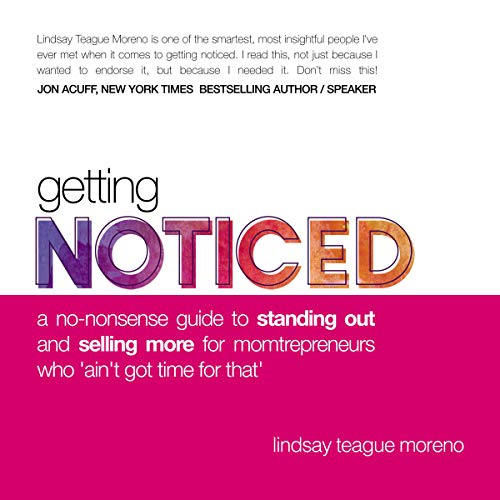 Getting Noticed audiobook cover art