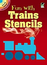 Fun With Trains Stencils (Dover Stencils)