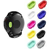 LDFAS Fenix 5/5S/5X Plus/6S 6 6X Pro Charger Port Protector, Silicone Dust Plug Anti-dust Plugs Compatible for Garmin Fenix 5S/5/5X/Vivoactive 3/Forerunner 935/45/45S/245/945 Smartwatch,Multi Colors