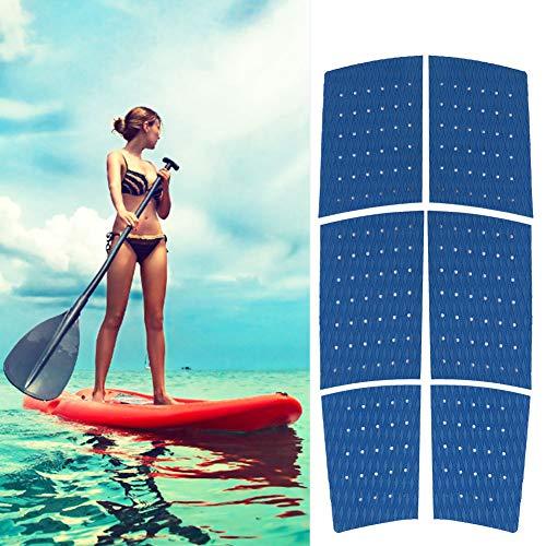 Weikeya Fuerte Tracción Estera, Azul Tabla de Surf Tracción Almohadillas 125 cm Diamante Ranura Patrón Químicos Corrosión Eva Hecho