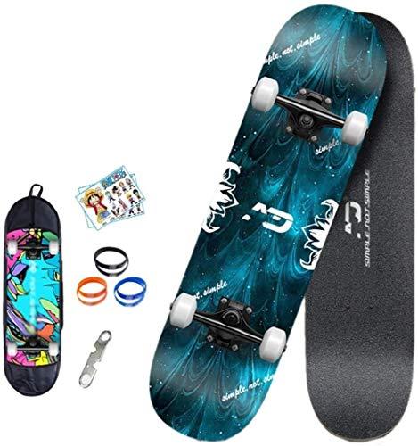 Skateboard, Longitud de la Tabla: 80 cm, Tabla de Skate for Adultos,...