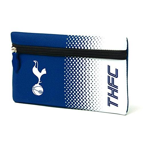 Tottenham Hotspur FC - Estuche plano oficial de Tottenham Hotspur FC con escudo