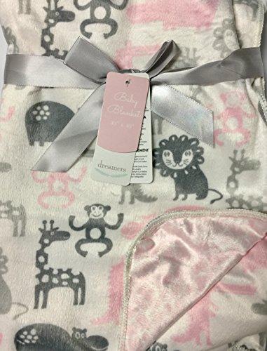 Safari animals baby blanket by dreamers