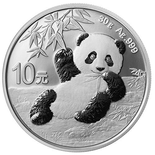 DEUTSCHER MÜNZEXPRESS Panda China 2020 | Silberunze | Sammlermünze