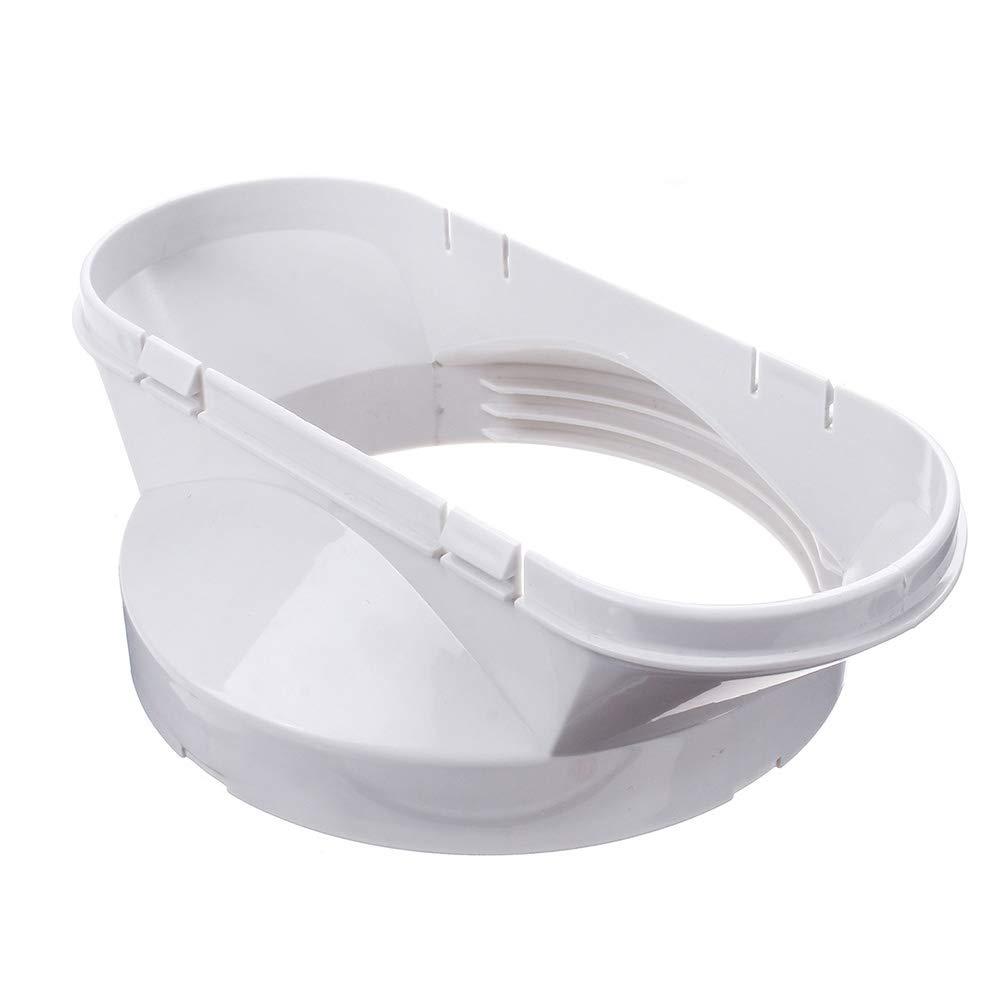 Bclaer72 13 cm de diámetro ABS Manguera de Escape Conector de Tubo Acondicionador de Aire móvil Adaptador de Ventana Accesorios para el acondicionador de Aire portátil(13 cm): Amazon.es: Hogar