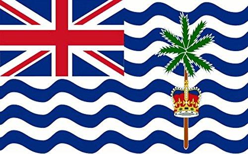 britannique INDIEN océan territoire Drapeau 3ft x 2ft moyen - 100% polyester - Oeillets en métal - DOUBLE COUTURE