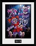 GB Eye Cinco Noches en Freddy 's, Hermana ubicación Grupo Impresión enmarcada, Multicolor, 30x 40cm