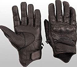 L & J NEW LEATHER MOTORCYCLE GLOVES BIKER S-3XL MOTORCYCLE GLOVES