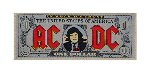AC/DC - Patch Banknote (in 15 cm x 7 cm) by AC/DC