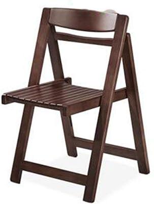GAOLI Artículos para el hogar cómodas sillas Plegables de Madera 5colors 46 * 42 * 73cm