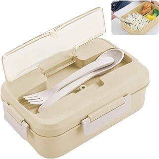 Bento Box Kids, ZoneYan Lunch Box avec Compartiment, Boîte à Bento Enfant et Adultes, Boîte à Repas pour Chauffage au Four...