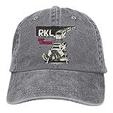 Wild Casquette Keep Laughing RKL Outdoor Cap Gray Cotton Unisex Hat Adjustable Baseball-Cap