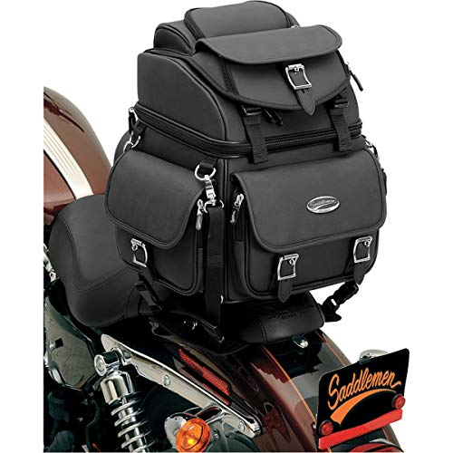 Saddlemen 3515-0118 Combination Back Rest/Seat/Sissy Bar Bag
