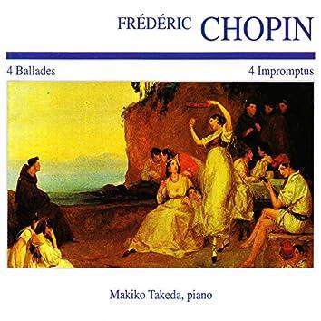 Frédéric Chopin: 4 Ballades · 4 Impromptus