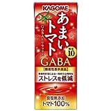 カゴメ あまいトマト GABA&リラックス【機能性表示食品】 195ml紙パック×24本入×(2ケース)