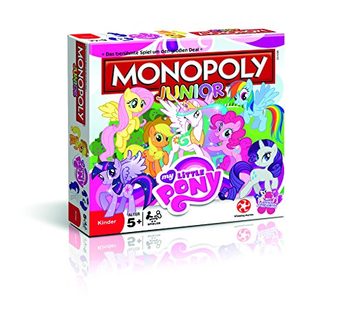 Winning Moves 43522 - Monopoly Junior My Little Pony, Spiele