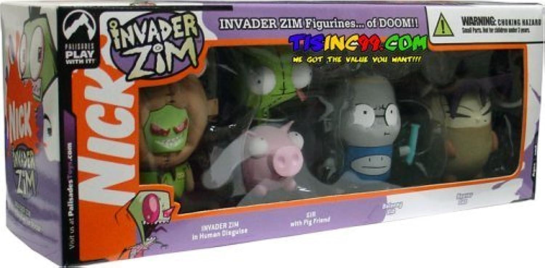 buena calidad Invader Zim Mini Figurines Set of Doom (4 Figuras) by by by Invader Zim  de moda