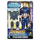 Hasbro Marvel Avengers Infinity War Capitán América Titan Hero Power FX (Personaje 30 cm, Action Fig...