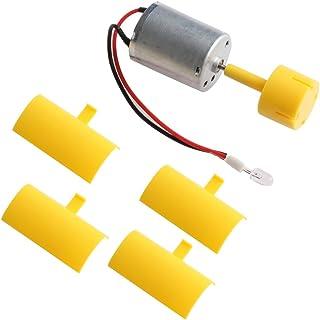 JOYKK DC Micro Motor Luces pequeñas Palas del generador de turbina eólica de Eje Vertical -
