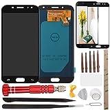 West Dragon Pantalla LCD táctil para Samsung Galaxy J5 2017 LCD y Herramientas de reparación para Samsung Galaxy J5 J530F J530Y (Simple y Conveniente para Hacerlo Usted Mismo) Negro